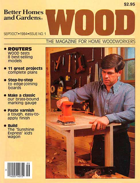 WOOD Issue 1, October 1984