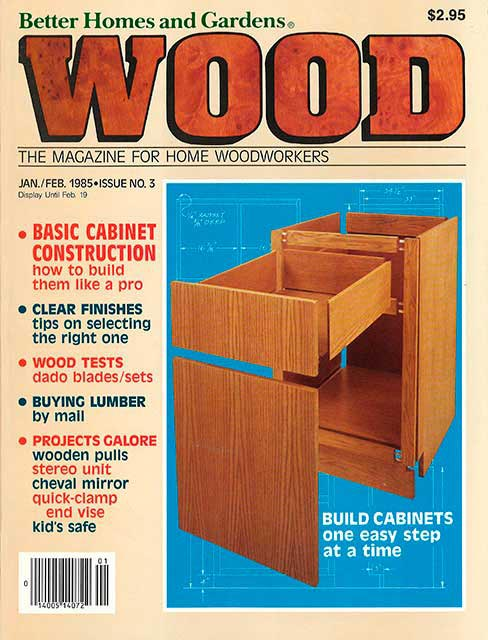 WOOD Issue 3, January/February 1985