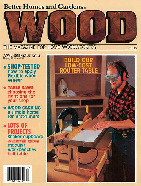 WOOD Issue 4, April 1985