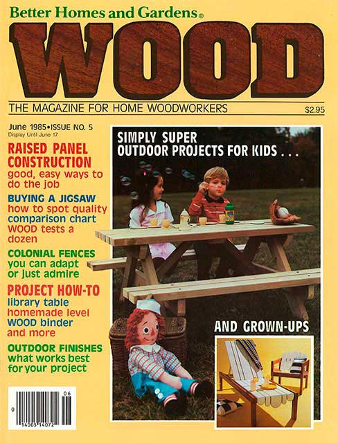 WOOD Issue 5, June 1985
