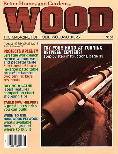 WOOD Issue 6, August 1985