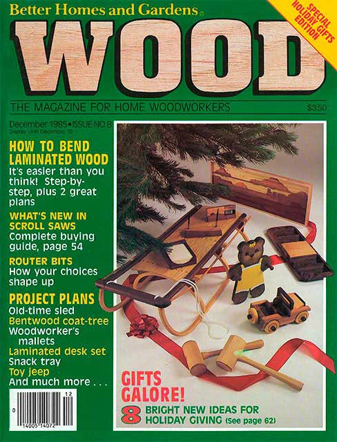 WOOD Issue 8, December 1985