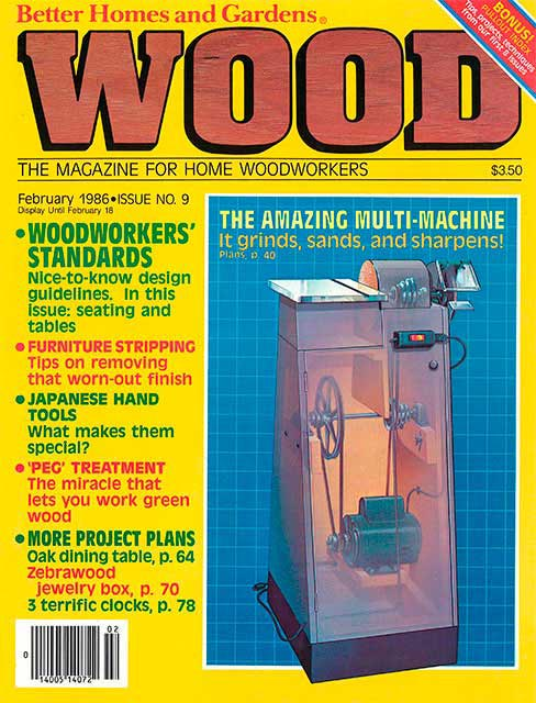 WOOD Issue 9, February 1986