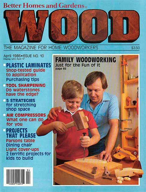 WOOD Issue 10, April 1986