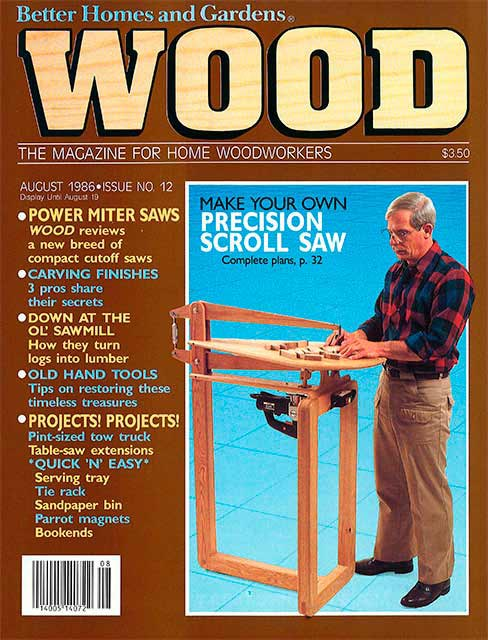 WOOD Issue 12, August 1986