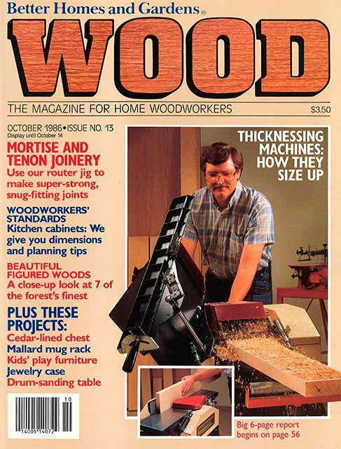 WOOD Issue 13, October 1986