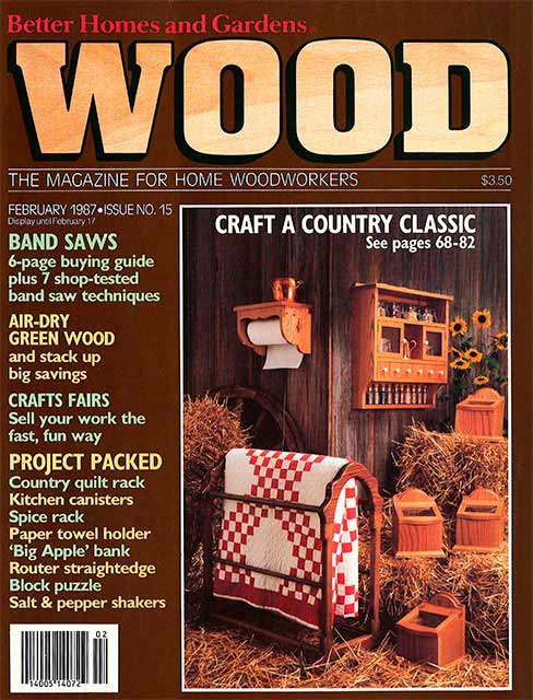 WOOD Issue 15, February 1987