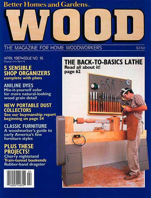 WOOD Issue 16, April 1987