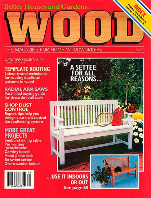 WOOD Issue 17, June 1987
