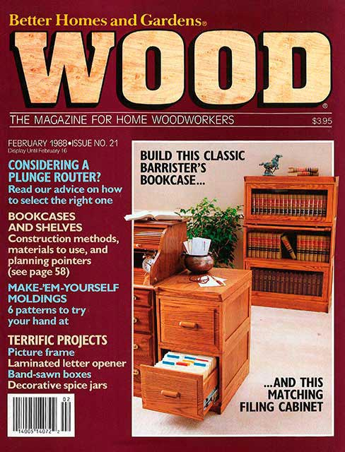 WOOD Issue 21, February 1988