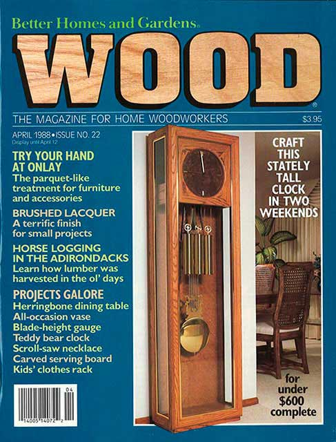 WOOD Issue 22, April 1988