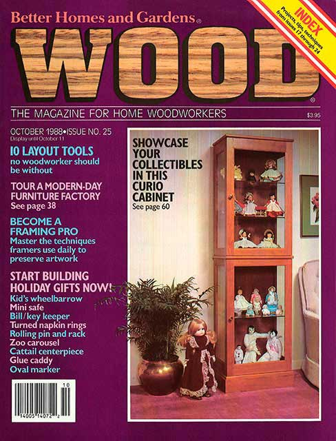 WOOD Issue 25, October 1988