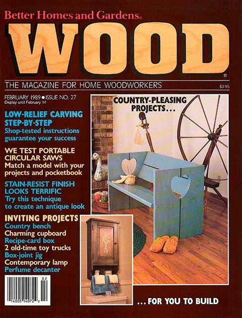 WOOD Issue 27, February 1989