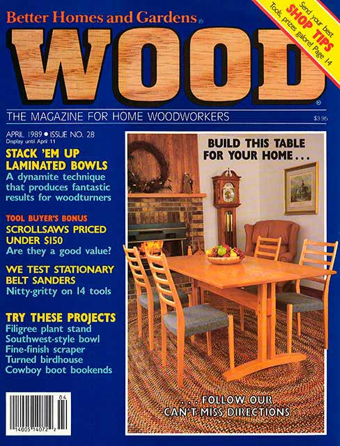 WOOD Issue 28, April 1989