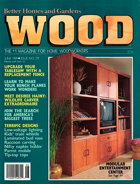 WOOD Issue 29, June 1989