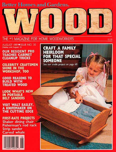 WOOD Issue 30, August 1989