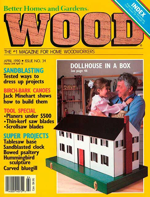 WOOD Issue 34, April 1990