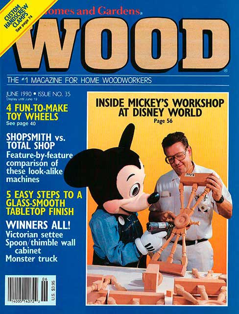 WOOD Issue 35, June 1990