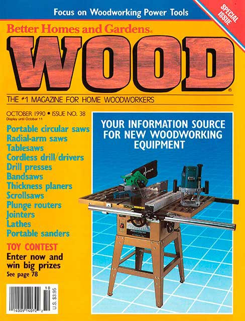 WOOD Issue 38, October 1990