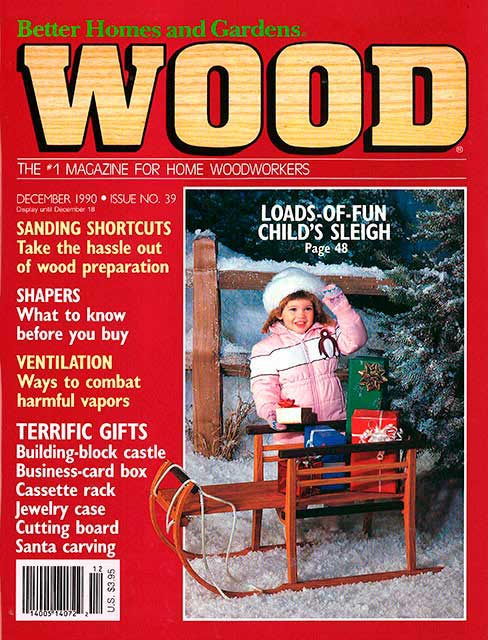 WOOD Issue 39, December 1990