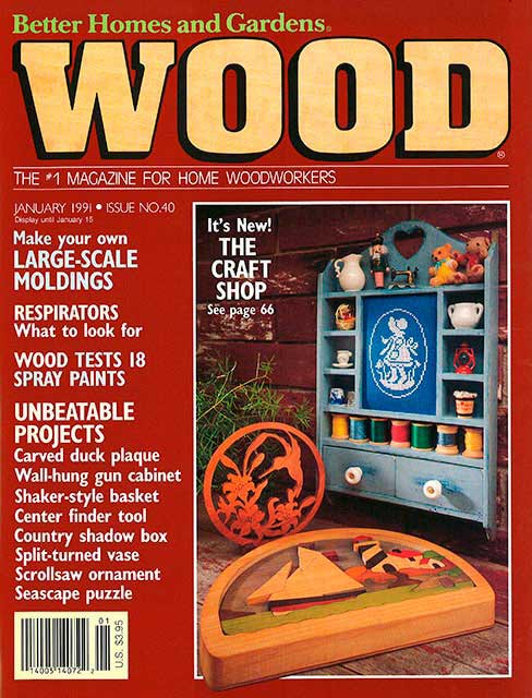 WOOD Issue 40, January 1991