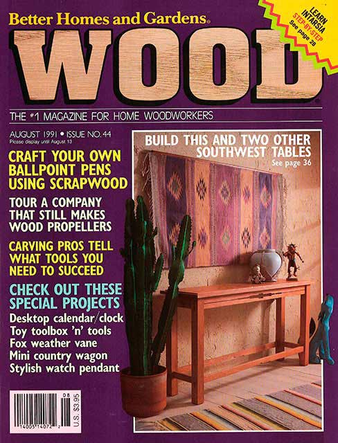 WOOD Issue 44, August 1991