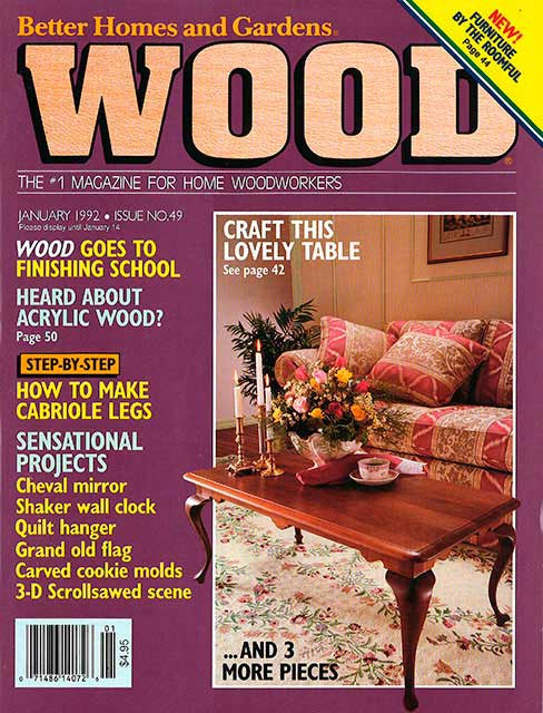 WOOD Issue 49, January 1992