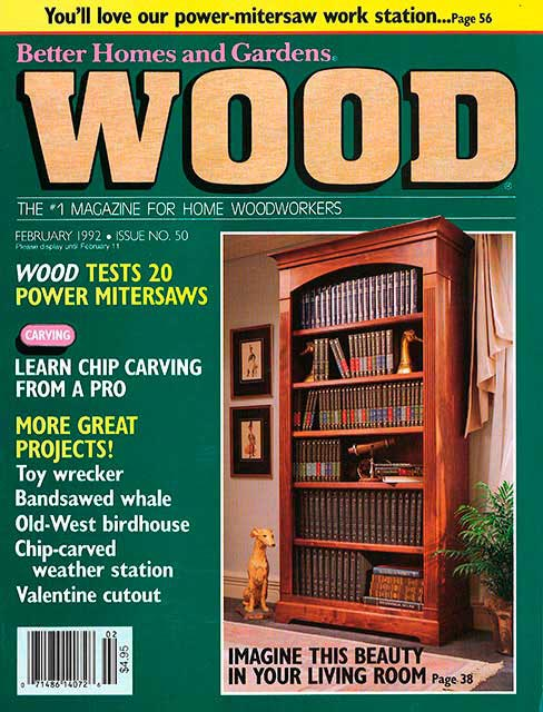 WOOD Issue 50, February 1992
