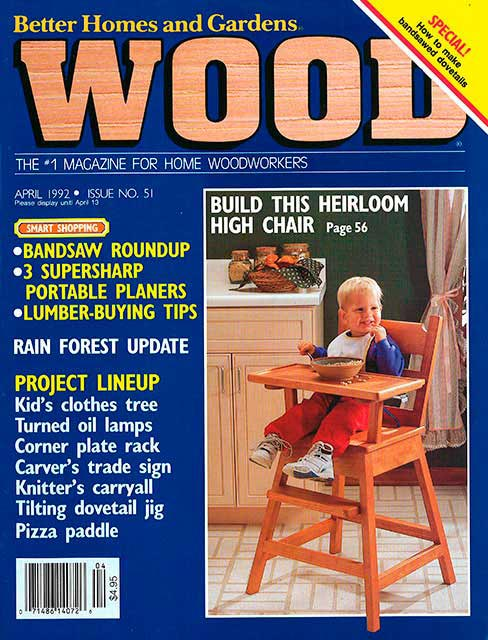 WOOD Issue 51, April 1992