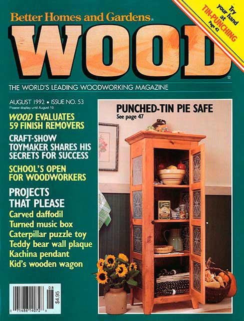 WOOD Issue 53, August 1992