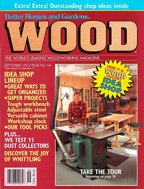 WOOD Issue 54, September 1992