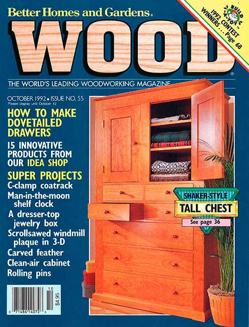 WOOD Issue 55, October 1992