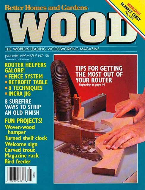 WOOD Issue 58, January 1993