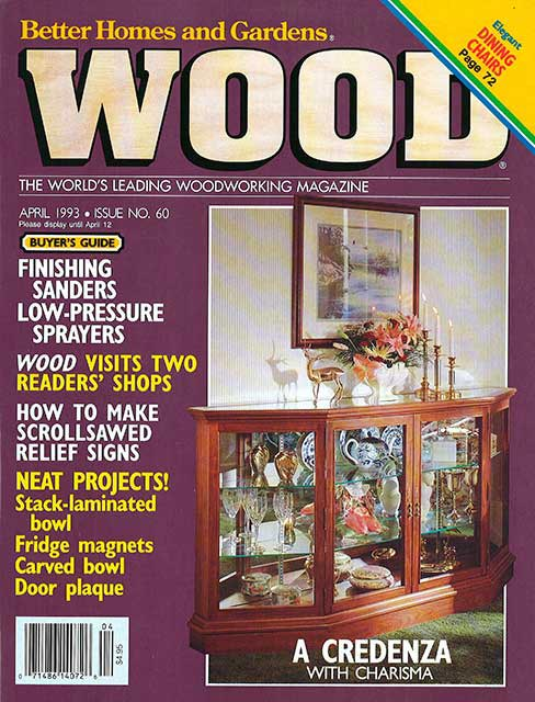 WOOD Issue 60, April 1993