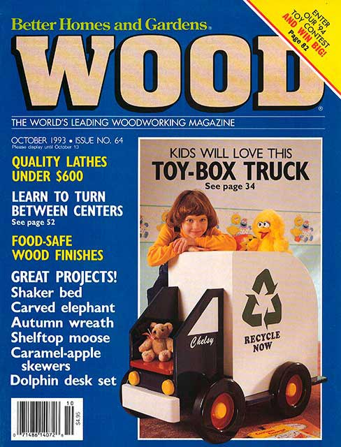WOOD Issue 64, October 1993