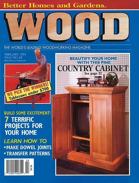 WOOD Issue 68, February 1994