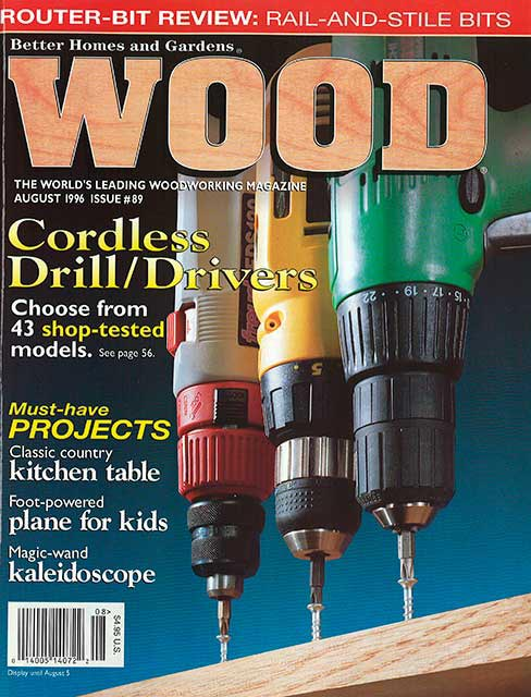 WOOD Issue 89, August 1996