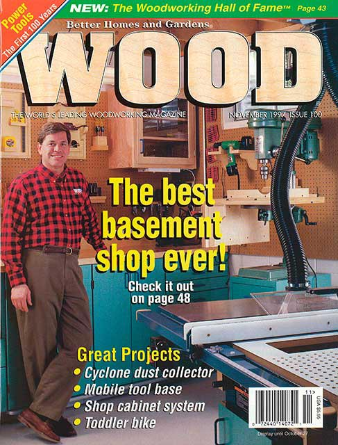 WOOD Issue 100, November 1997