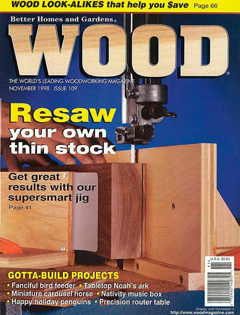 WOOD Issue 109, November 1998
