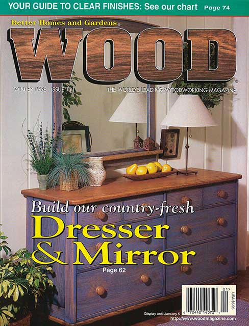WOOD Issue 111, Winter 1998
