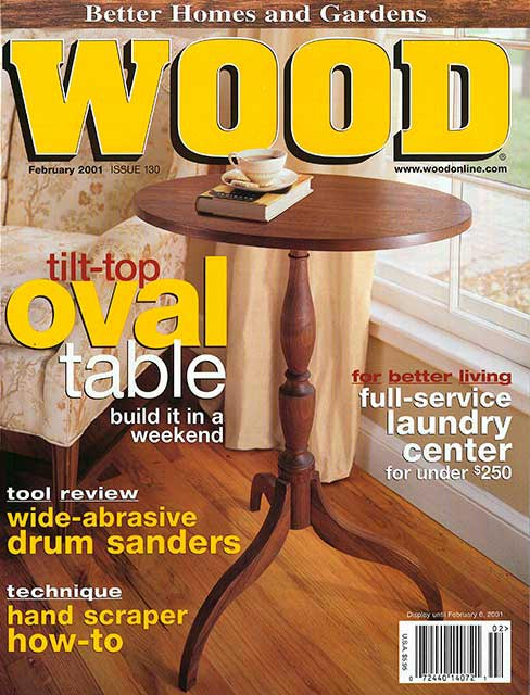 WOOD Issue 130, February 2001