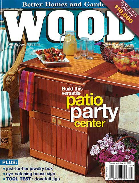 WOOD Issue 134, August 2001