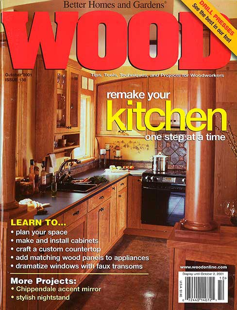 WOOD Issue 136, October 2001
