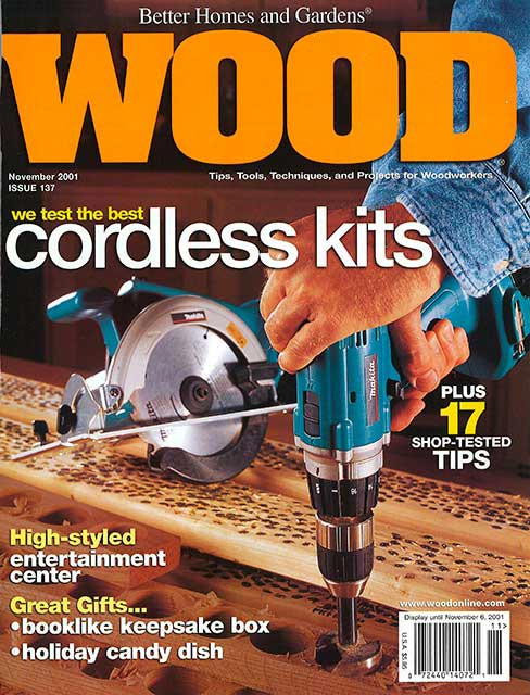WOOD Issue 137, November 2001