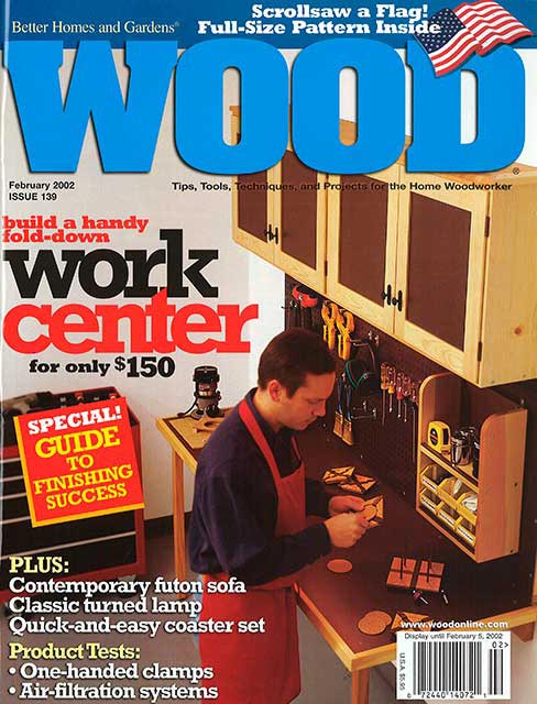 WOOD Issue 139, February 2002, WOOD Magazine