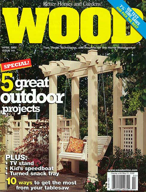 WOOD Issue 141, April 2002