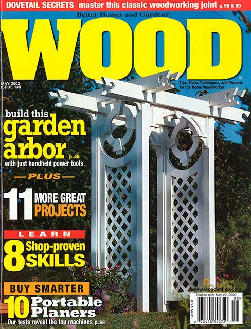 WOOD Issue 148, May 2003