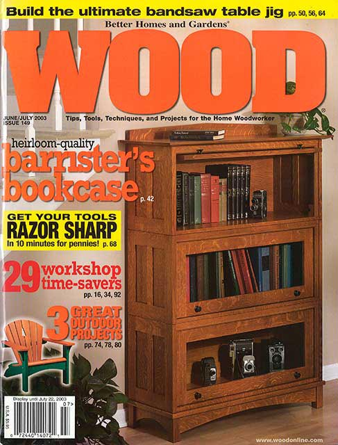 WOOD Issue 149, June/July 2003