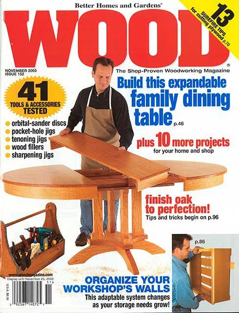 WOOD Issue 152, November 2003