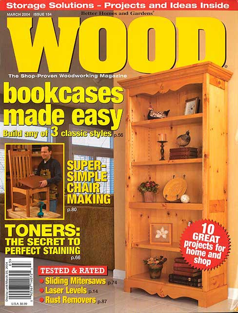 WOOD Issue 154, March 2004